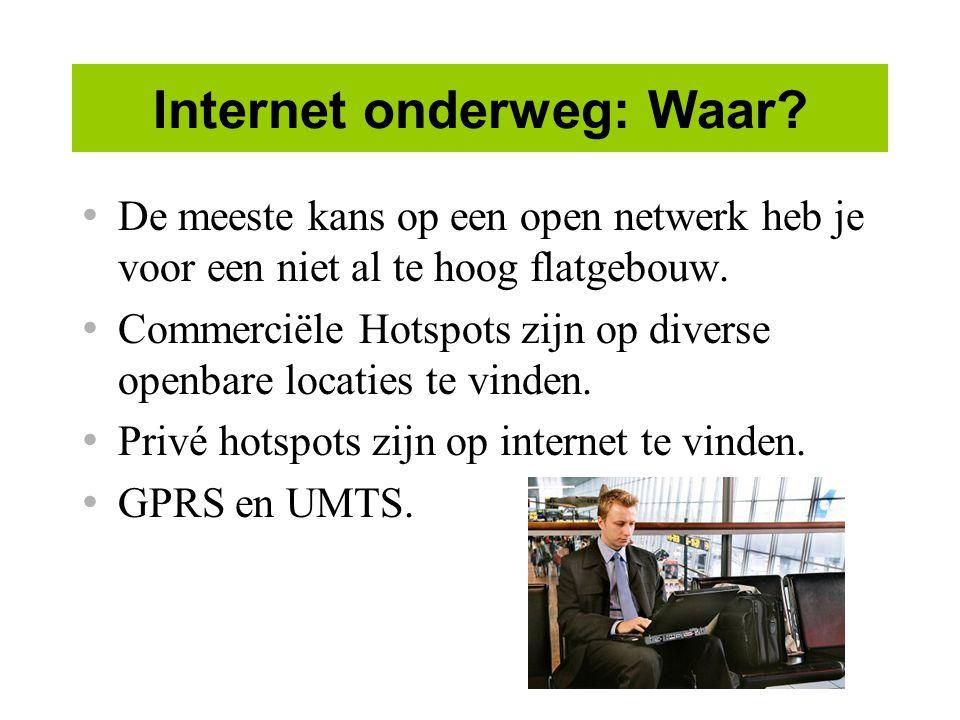 Internet onderweg: Waar