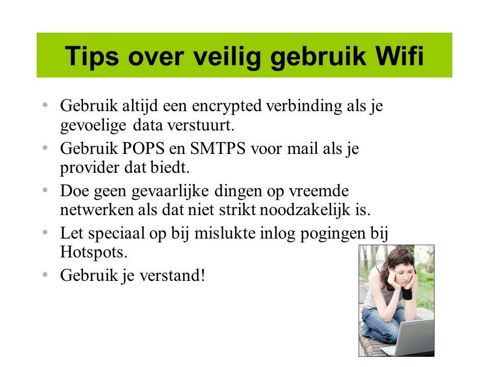 Tips over veilig gebruik Wifi