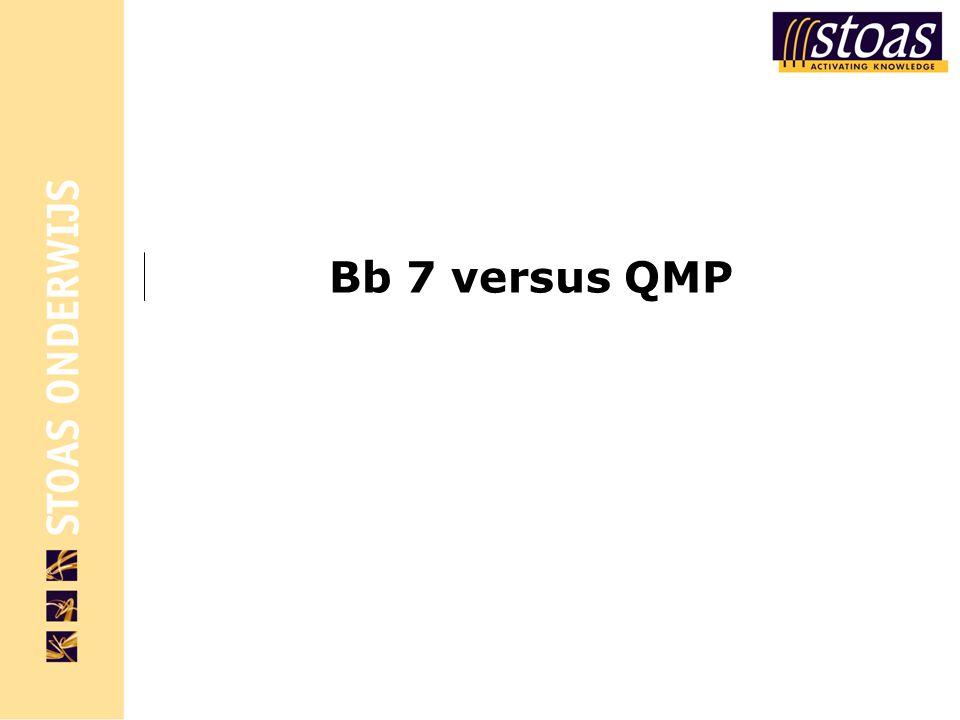 Bb 7 versus QMP