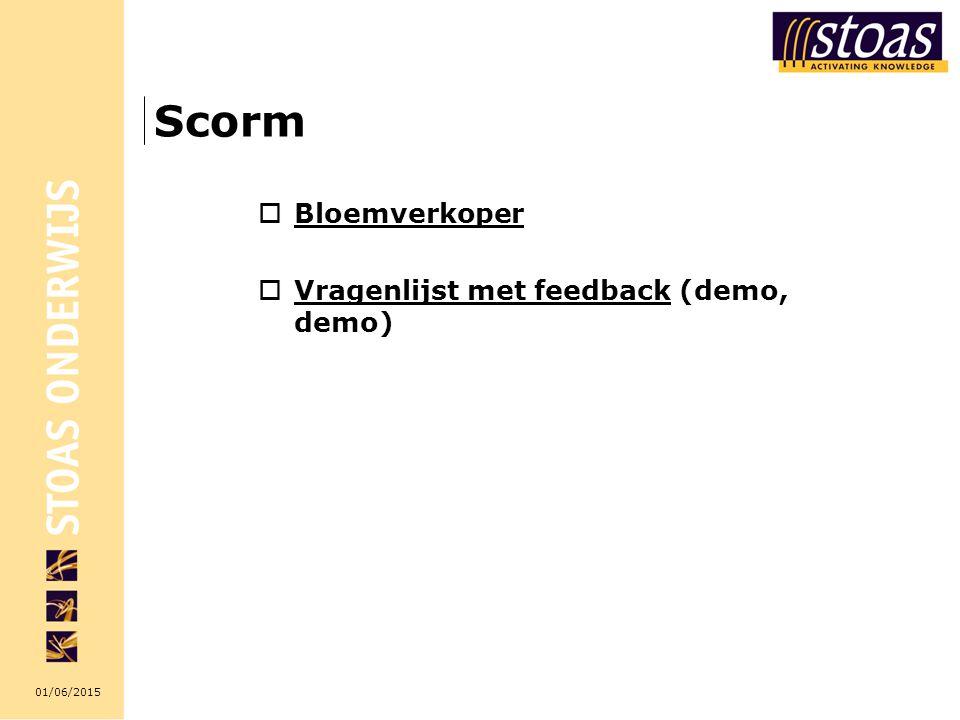 Scorm Bloemverkoper Vragenlijst met feedback (demo, demo)