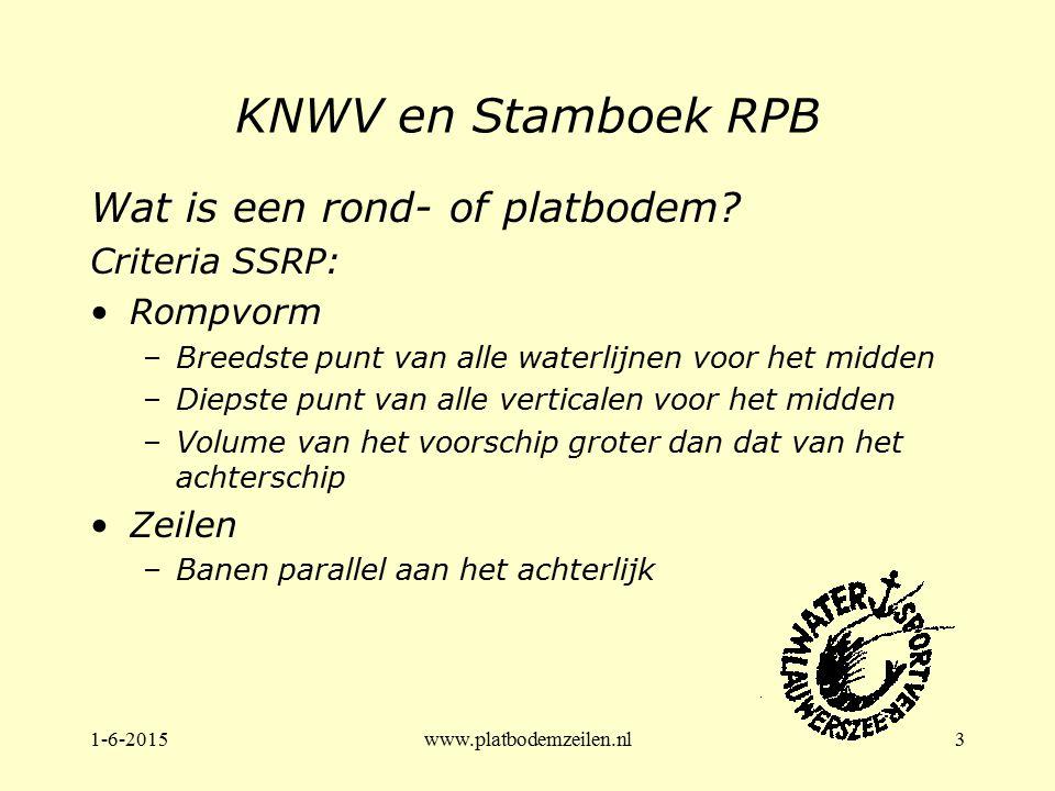 KNWV en Stamboek RPB Wat is een rond- of platbodem Criteria SSRP: