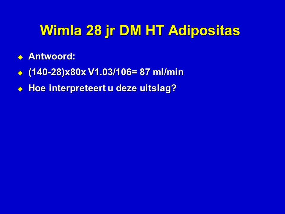 Wimla 28 jr DM HT Adipositas