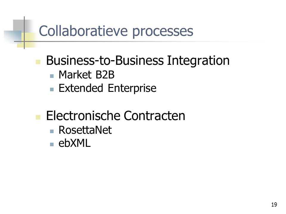 Collaboratieve processes