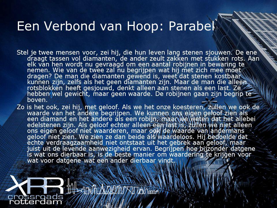 Een Verbond van Hoop: Parabel