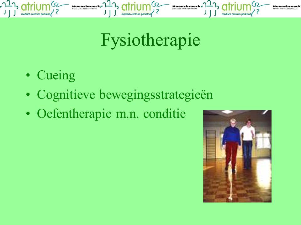 Fysiotherapie Cueing Cognitieve bewegingsstrategieën