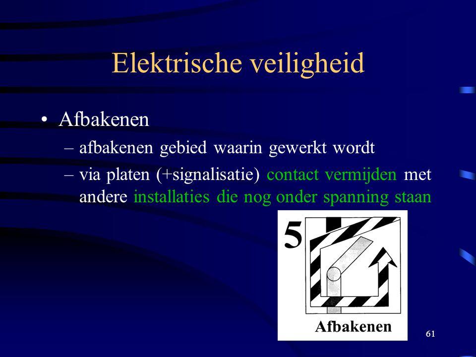 Elektrische veiligheid