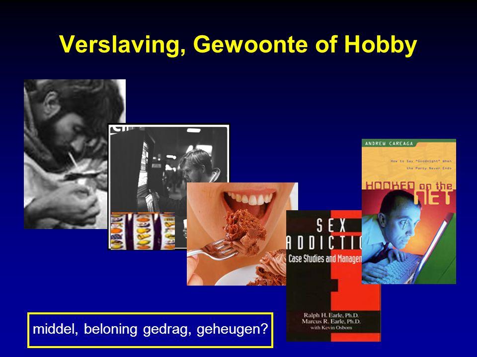 Verslaving, Gewoonte of Hobby
