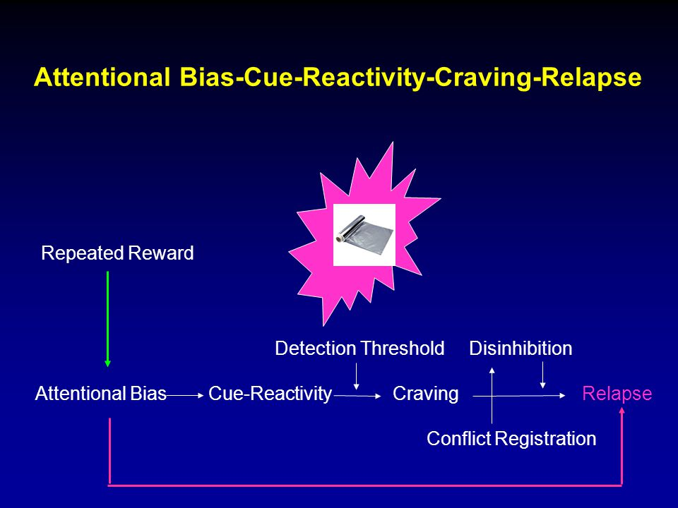 Attentional Bias-Cue-Reactivity-Craving-Relapse