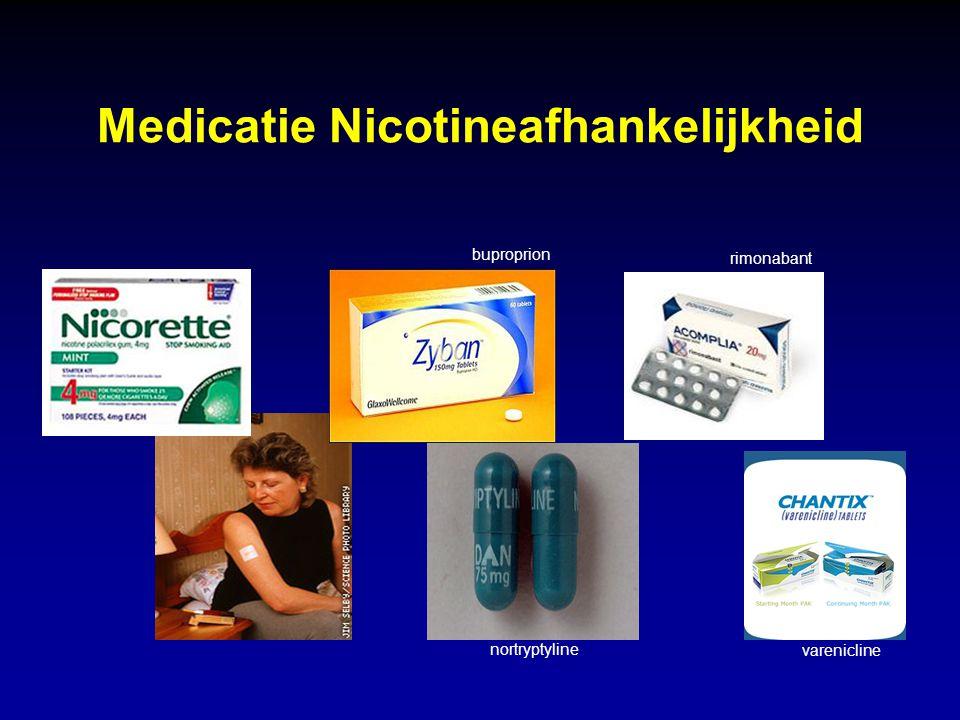 Medicatie Nicotineafhankelijkheid