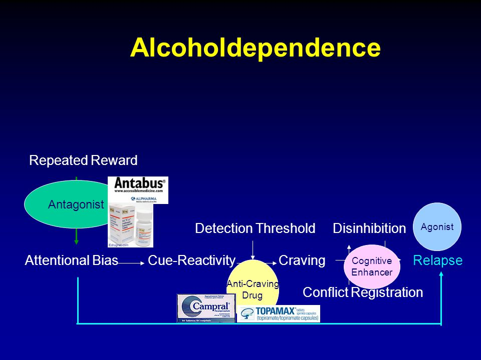 Alcoholdependence Repeated Reward Detection Threshold Disinhibition