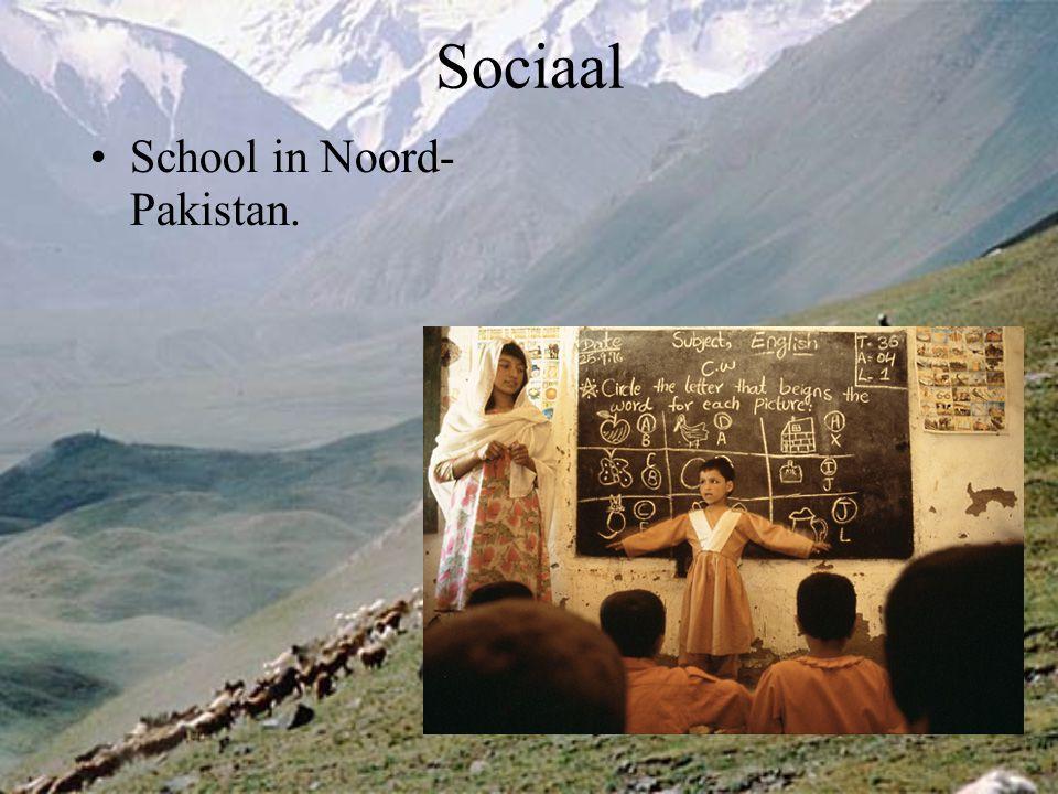 Sociaal School in Noord- Pakistan.