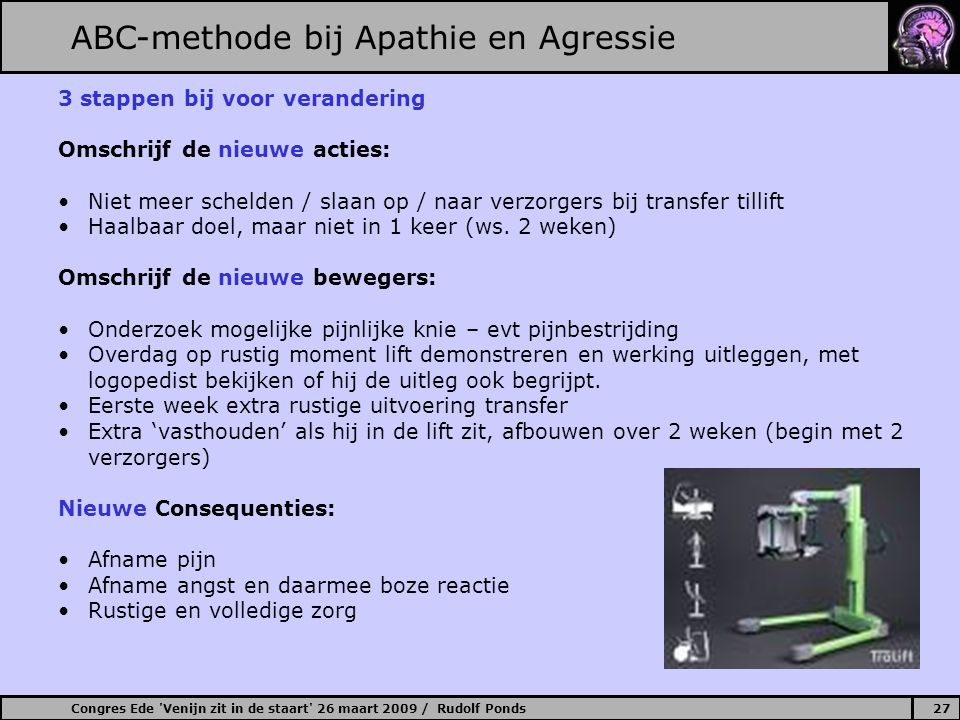 ABC-methode bij Apathie en Agressie