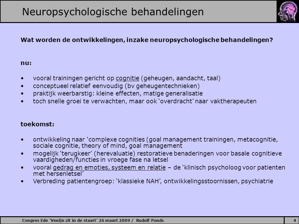 Neuropsychologische behandelingen