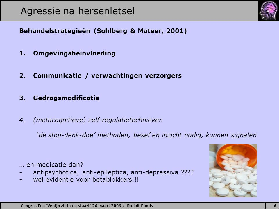Agressie na hersenletsel