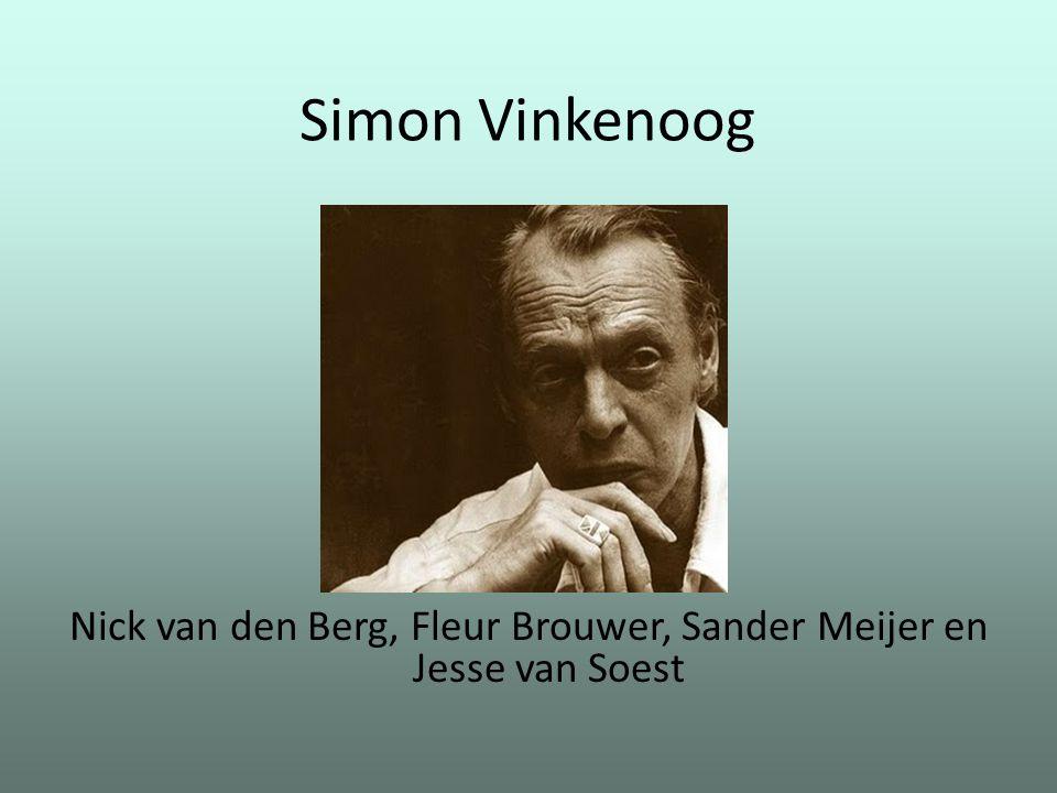 Nick van den Berg, Fleur Brouwer, Sander Meijer en Jesse van Soest