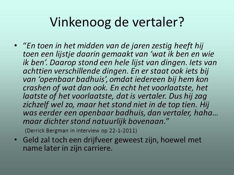 Vinkenoog de vertaler