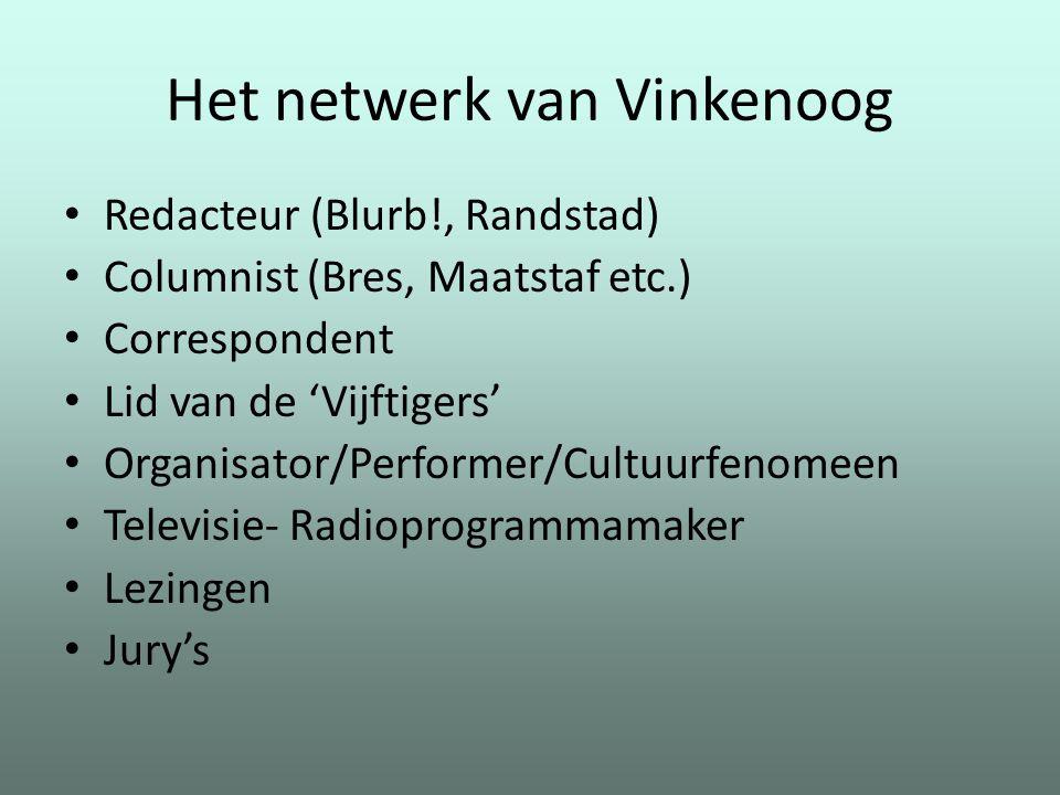 Het netwerk van Vinkenoog