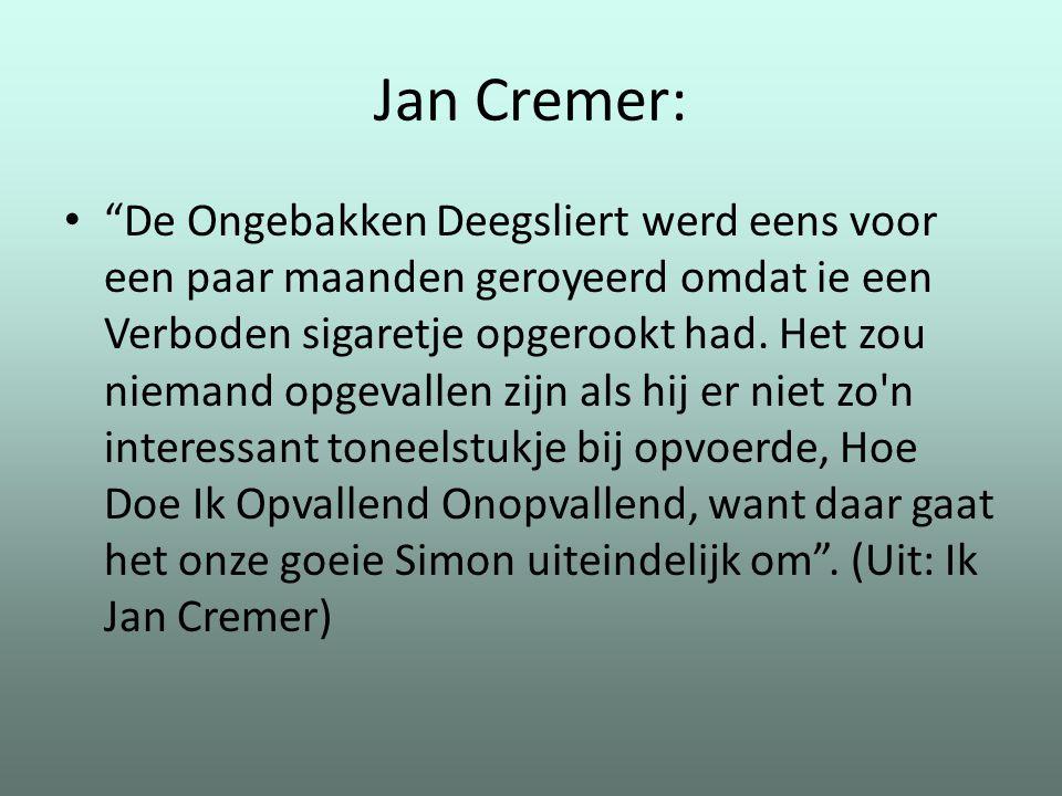 Jan Cremer: