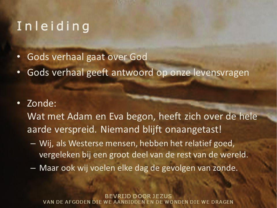 Inleiding Gods verhaal gaat over God