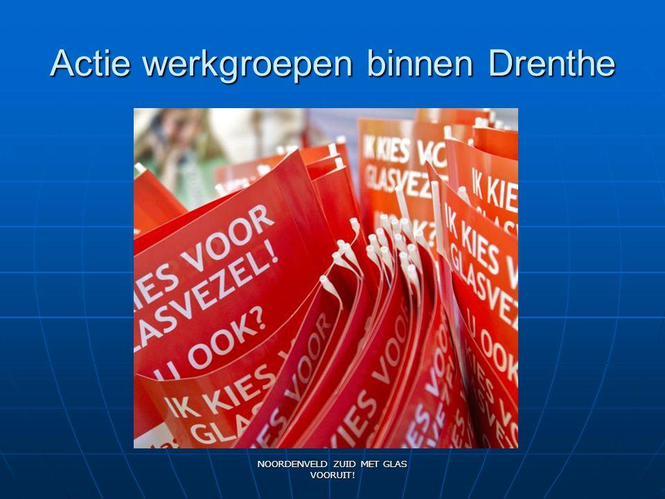 Actie werkgroepen binnen Drenthe