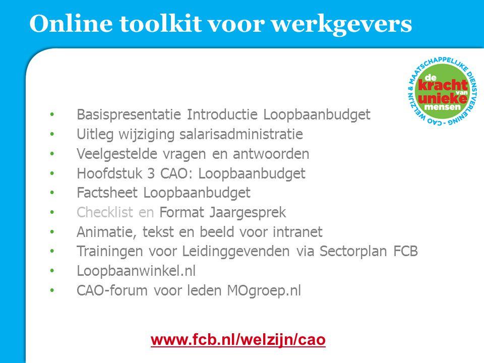 Online toolkit voor werkgevers