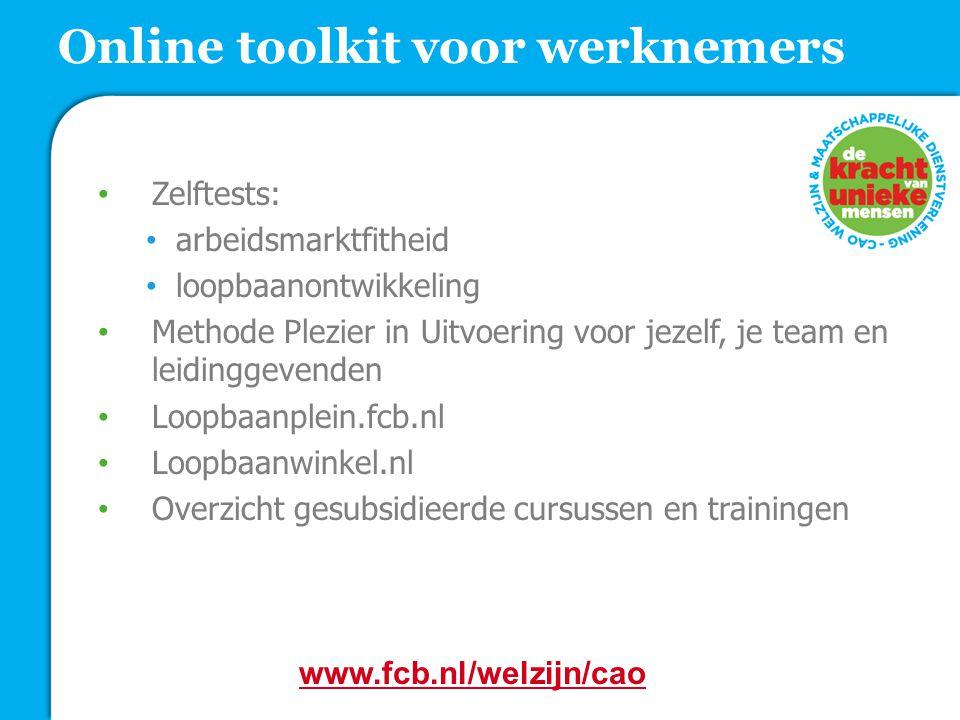 Online toolkit voor werknemers