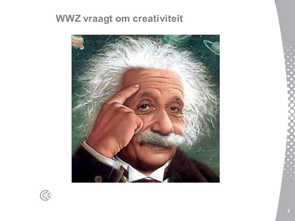 WWZ vraagt om creativiteit