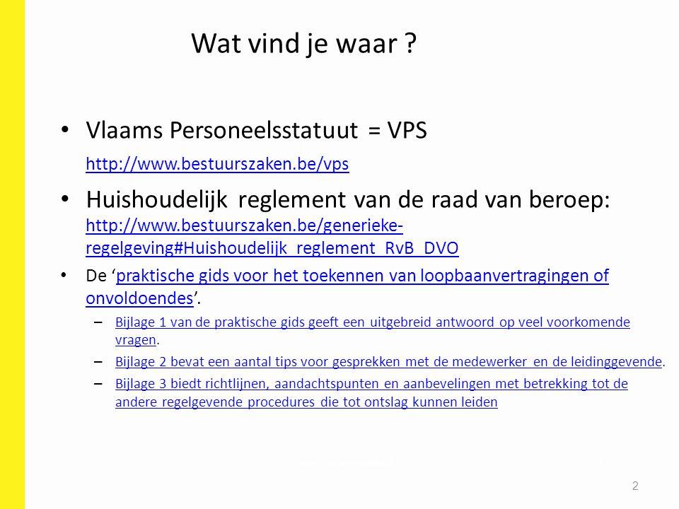 Vlaams personeelsstatuut