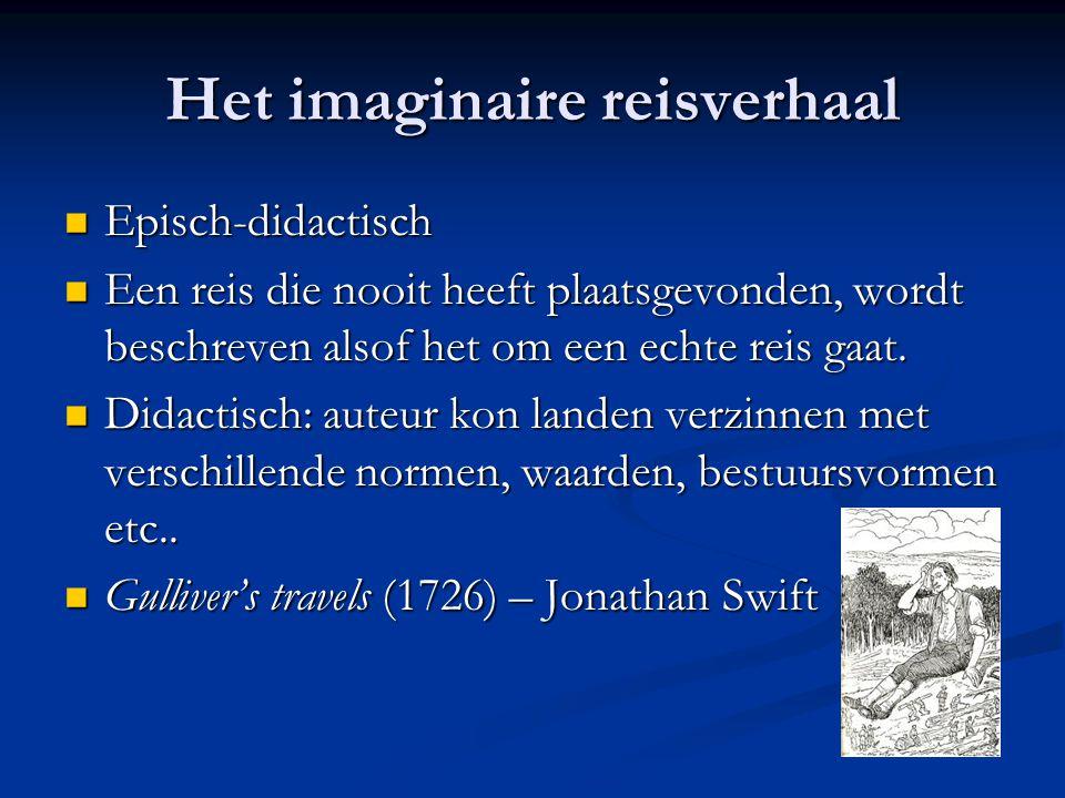 Het imaginaire reisverhaal
