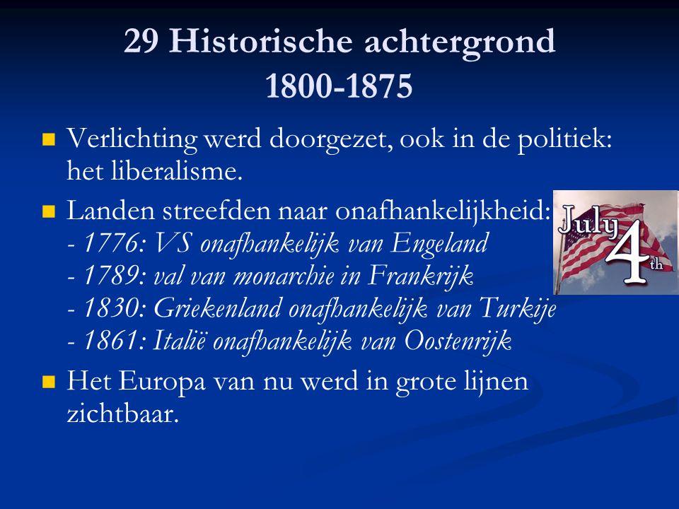 29 Historische achtergrond 1800-1875