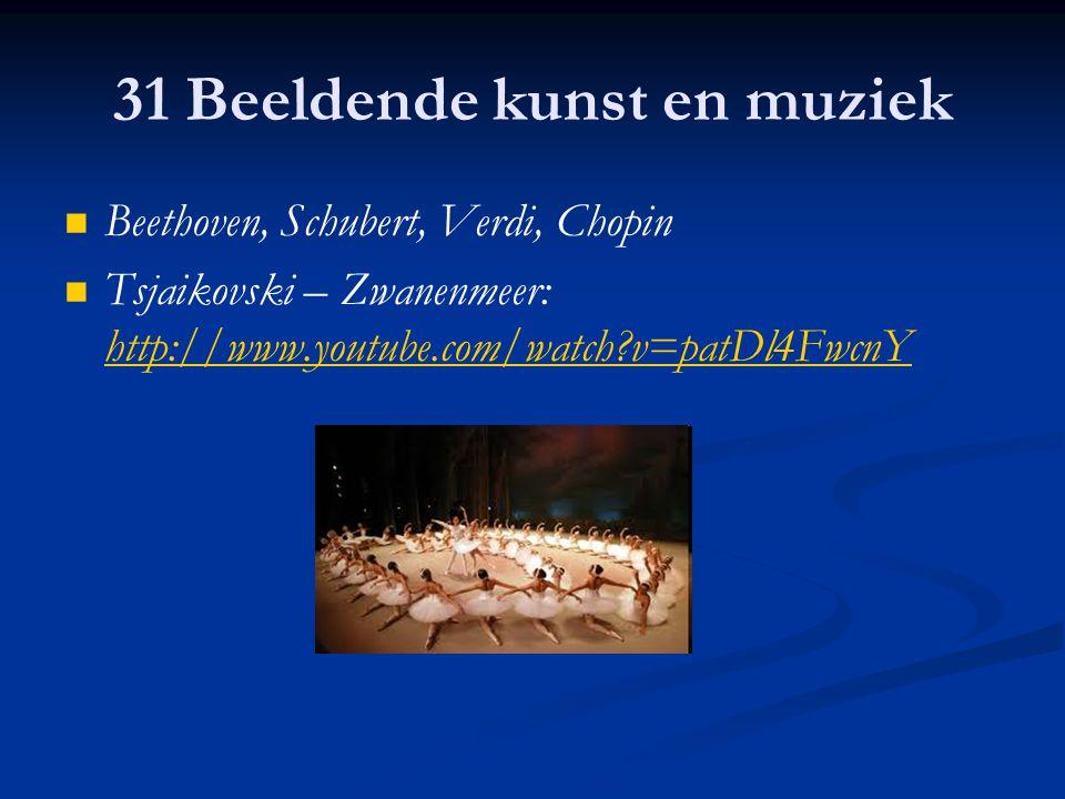 31 Beeldende kunst en muziek