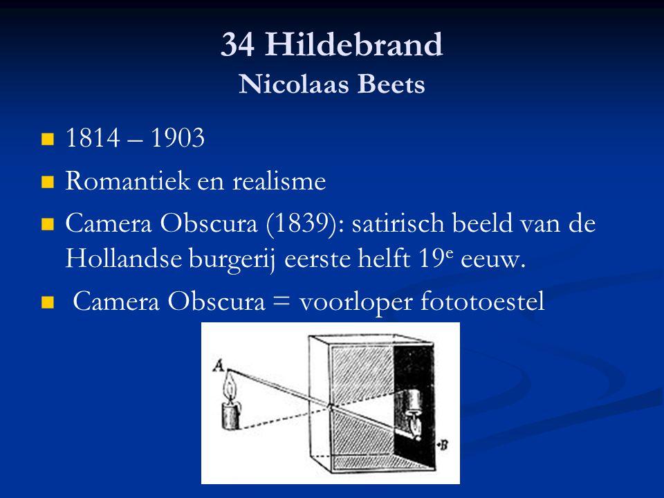 34 Hildebrand Nicolaas Beets