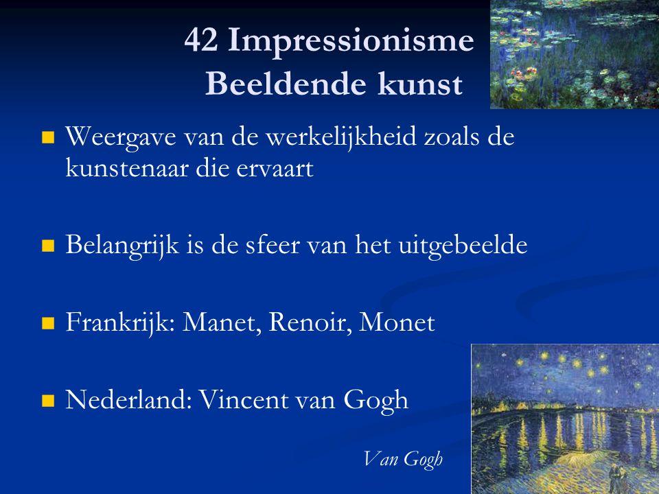 42 Impressionisme Beeldende kunst