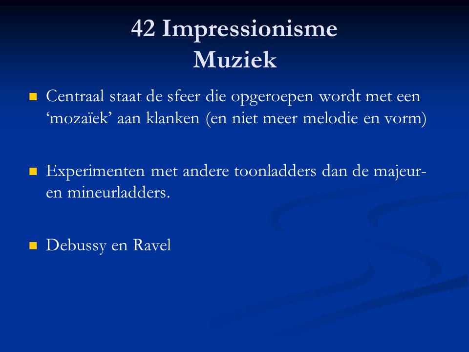 42 Impressionisme Muziek
