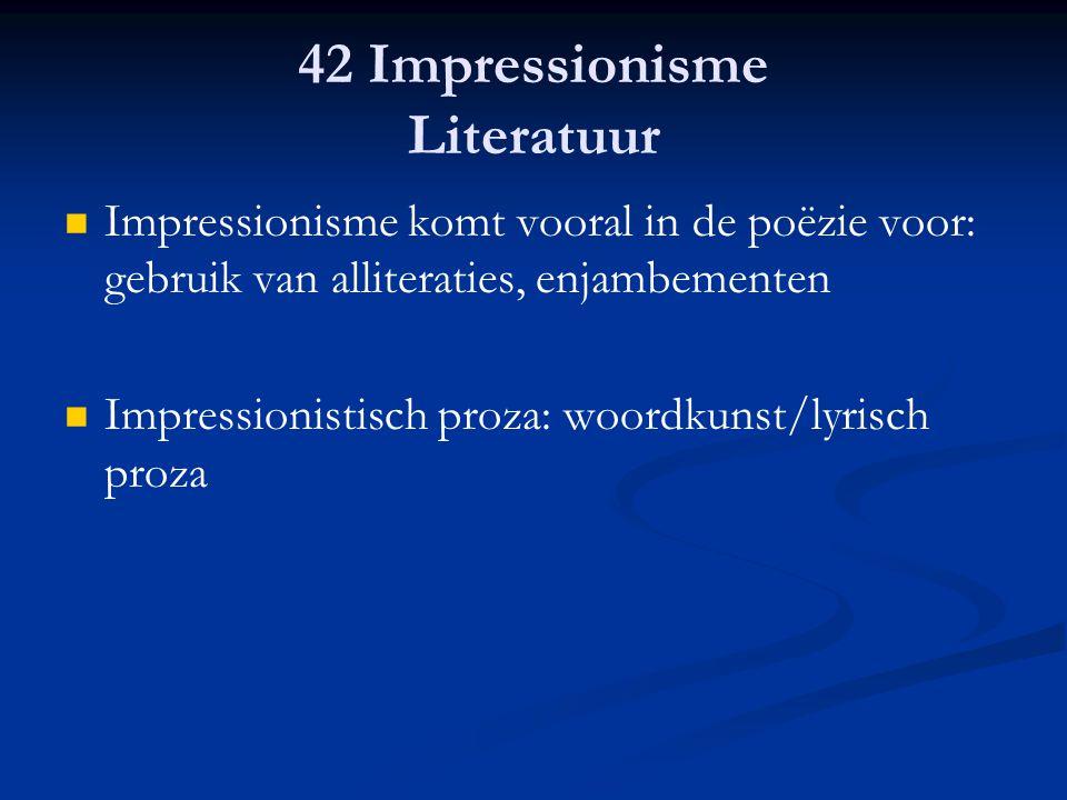 42 Impressionisme Literatuur