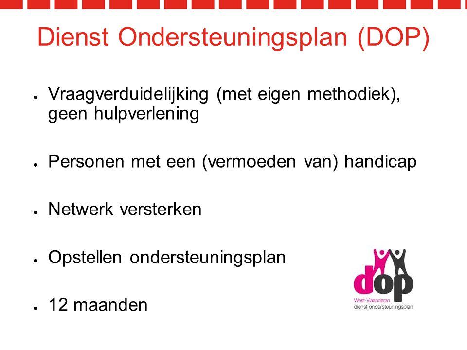 Dienst Ondersteuningsplan (DOP)