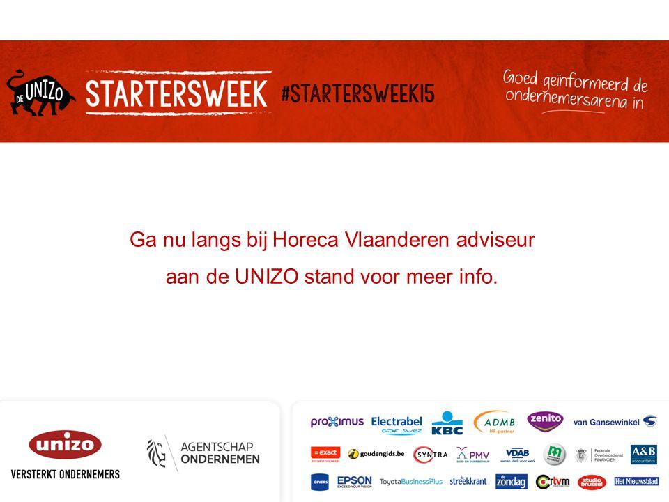 Ga nu langs bij Horeca Vlaanderen adviseur