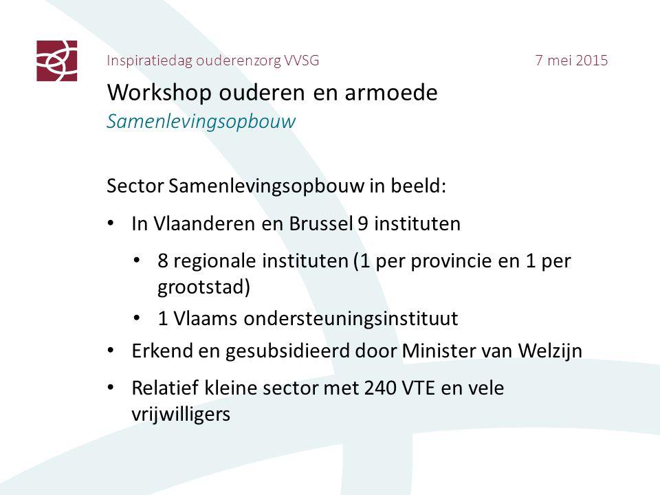 Inspiratiedag ouderenzorg VVSG 7 mei 2015