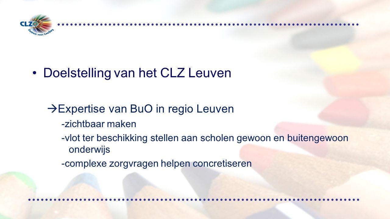 Doelstelling van het CLZ Leuven