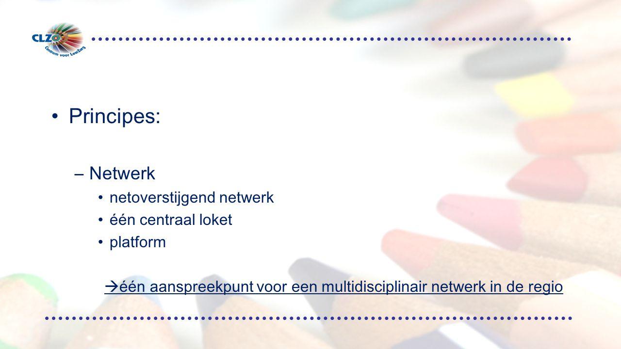 één aanspreekpunt voor een multidisciplinair netwerk in de regio