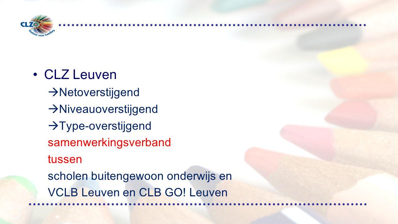 CLZ Leuven Netoverstijgend Niveauoverstijgend Type-overstijgend
