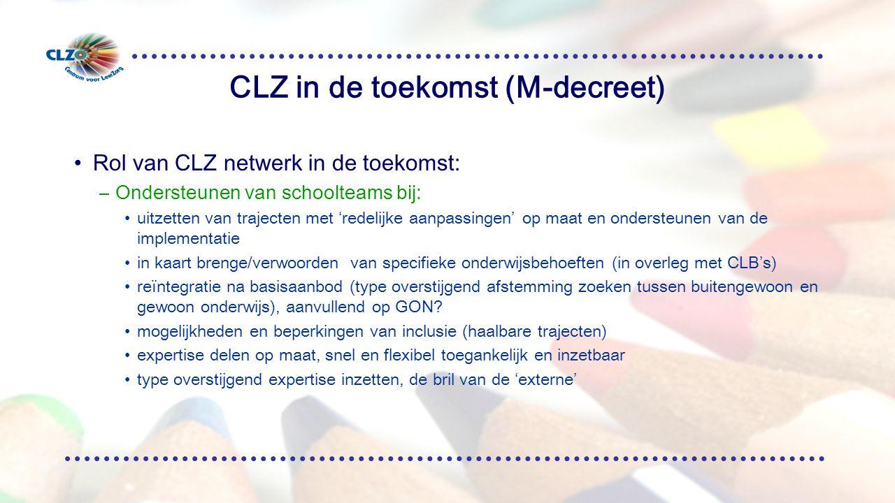 CLZ in de toekomst (M-decreet)