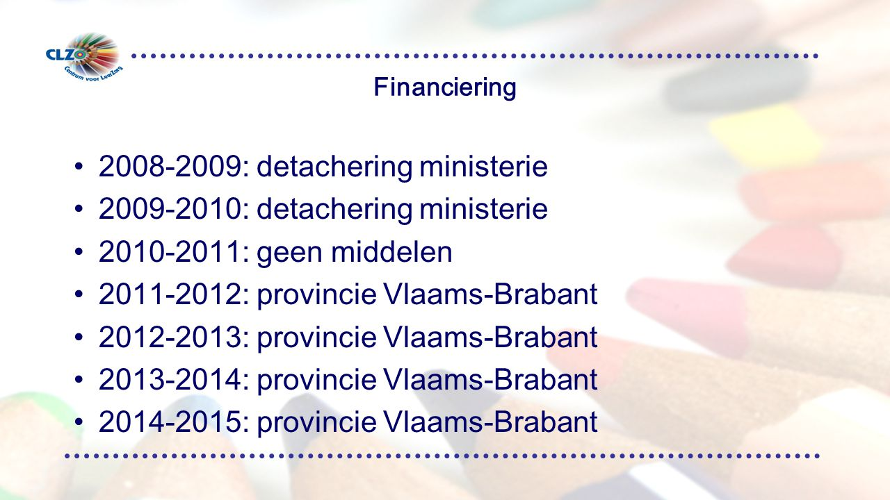 2008-2009: detachering ministerie 2009-2010: detachering ministerie