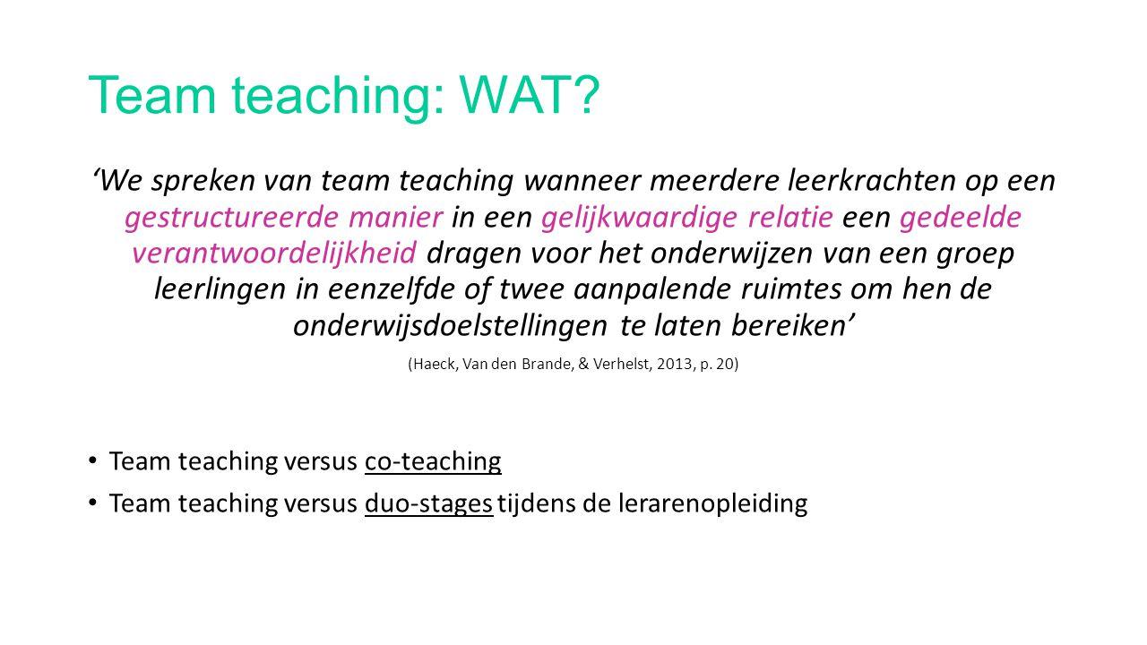(Haeck, Van den Brande, & Verhelst, 2013, p. 20)