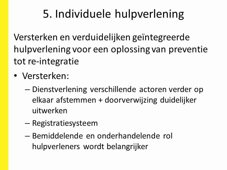 5. Individuele hulpverlening