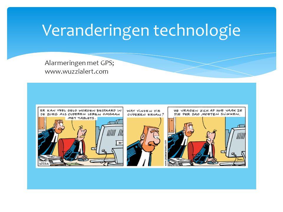Veranderingen technologie