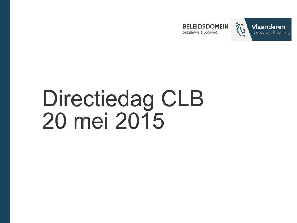 Directiedag CLB 20 mei 2015