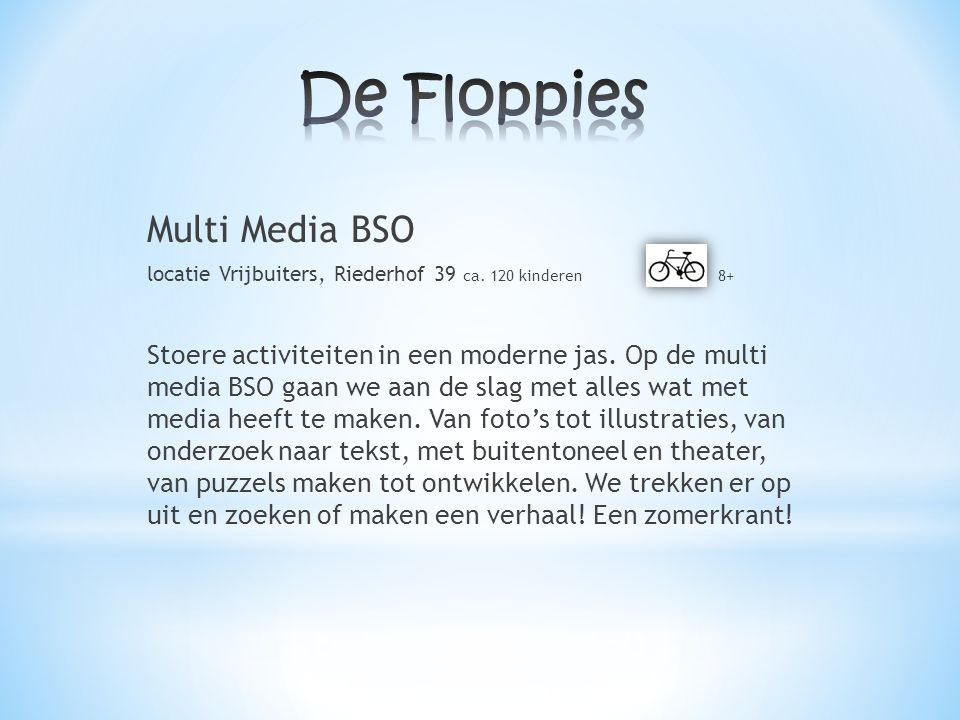 De Floppies Multi Media BSO