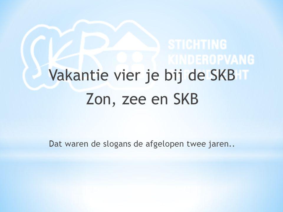 Vakantie vier je bij de SKB Zon, zee en SKB