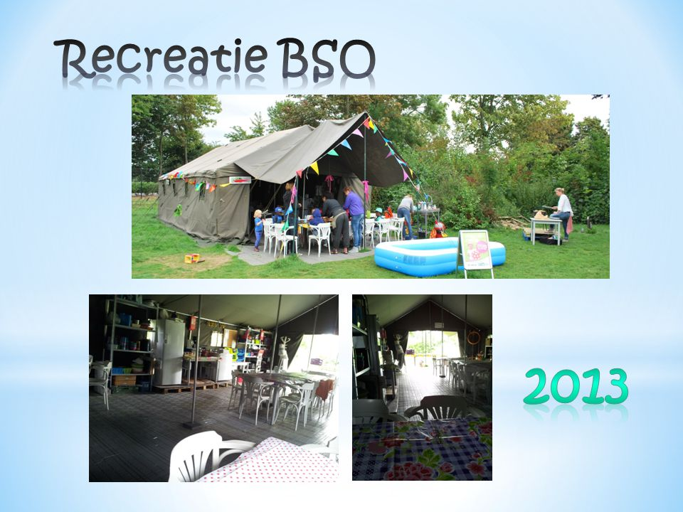Recreatie BSO 2013